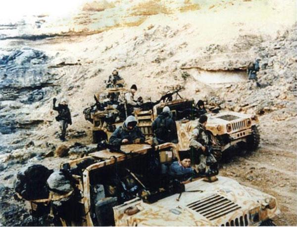"""Nel corso dell'operazione """"Desert Storm"""" (Iraq, 1991) il 1st S.F.O.D.-Delta venne nicaricato di trovare e distruggere le batterie di missili  Scud che minacciavano Israele."""