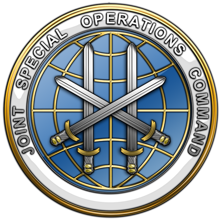 Emblema del Joint Special Operations Command (J.S.O.C.)