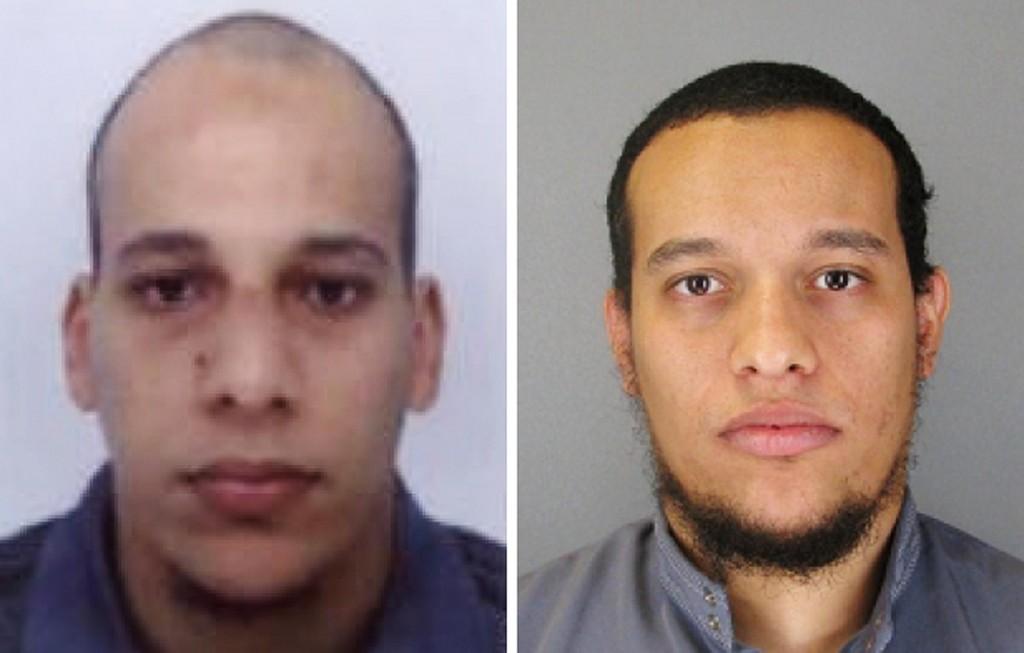 I fratelli musulmani Cherif e Said Kouachi.