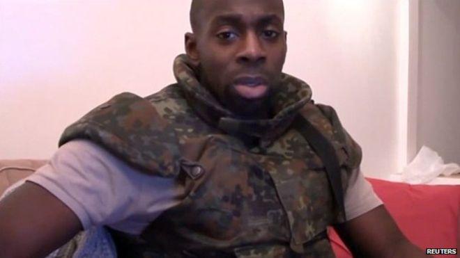 Il terrorista Coulibaly.