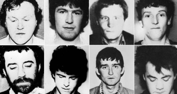 Gli otto terroristi abbattuti nel corso dell'operazione.