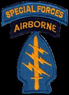 Patch da spalla delle Special Force dello U.S. Army
