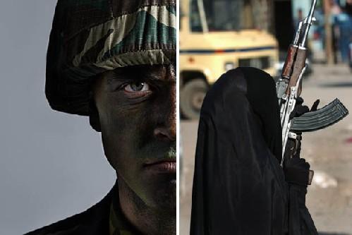 Operatori dello Special Air Service si sono infiltrati a raqqa travestiti da spose islamiche.
