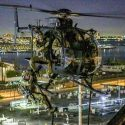 Special operations helicopters descend over Los Angeles in spectacular exercise